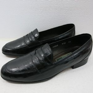 Cole Haan Strap Leather Dress Penny Loafers 8.5 B